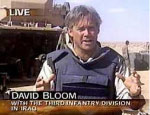 David Bloom in Iraq